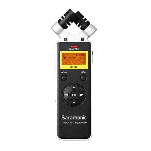 מקליט סאונד - SARAMONIC SR-Q2 VIEWCENTER